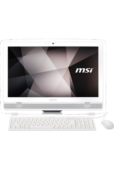 """MSI PRO AC17-102TR-X Intel Core i5 7400 8GB 1TB GT930M Freedos 21.5"""" FHD All In One Bilgisayar"""