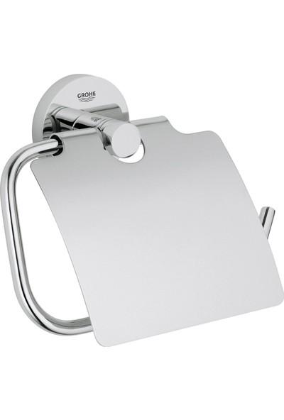 Grohe Essentials Tuvalet Kağıtlığı Kapaklı Banyo Aksesuarı - 40367001