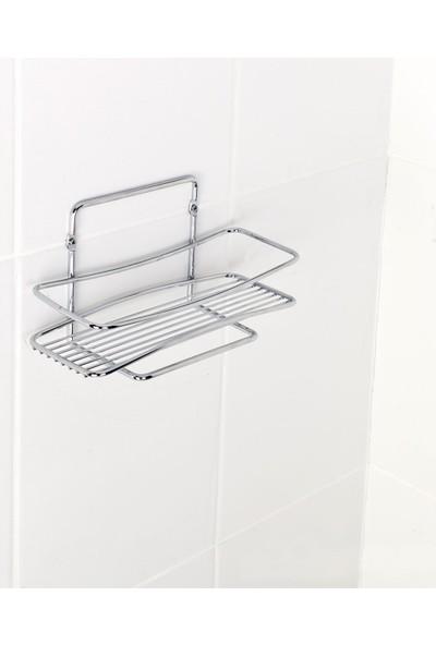 Tekno-Tel BK004 Tek Katlı Banyo Rafı