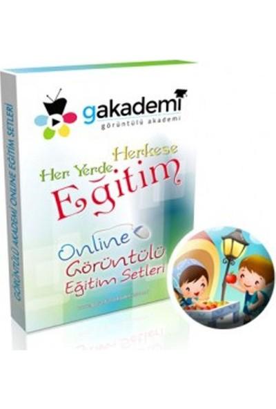 1. Sınıf Türkçe Online Görüntülü Eğitim Seti