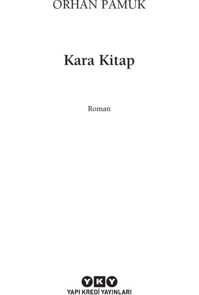 Kara Kitap - Orhan Pamuk