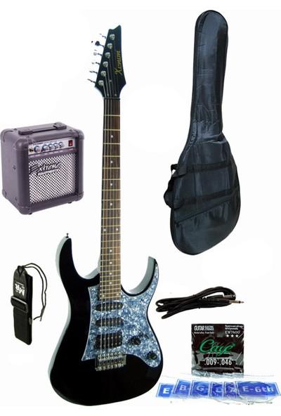 Xenon XNE4BKSET Elektro Gitar Seti