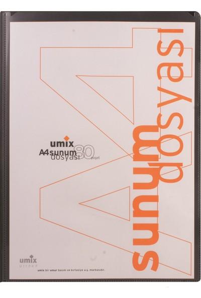 Umix Standart Sunum Dosyası 80Li Gri