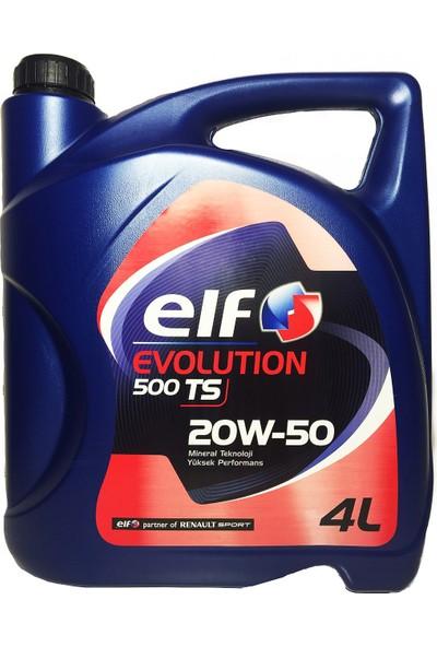 Elf Evolutıon 500 Ts 20w50 4 Litre Motor Yağ ( Benzin, Dizel )