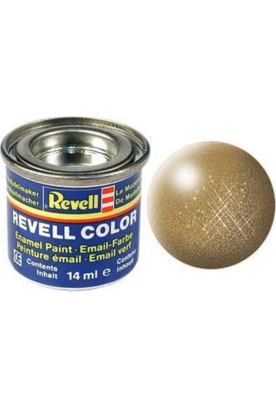 Revell-32192 Metalik Prinç Rengi Plastik Maket Boyası (Yağlı Boya)