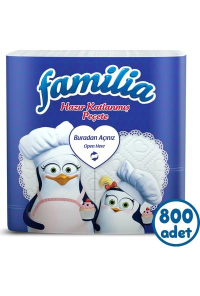 Familia Hazır Katlanmış 100'lü Peçete 8'li Koli