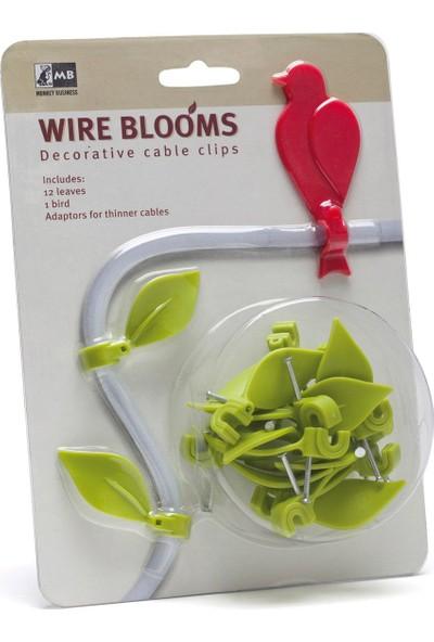 Wire Blooms Kuşlu Kablo Sabitleyici
