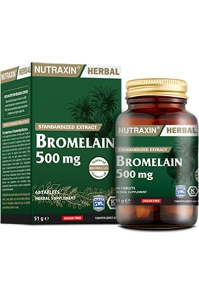 Nutraxin Bromelain 60 Kapsül