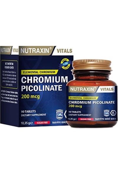 Nutraxin Chromıum Pıcolına 90