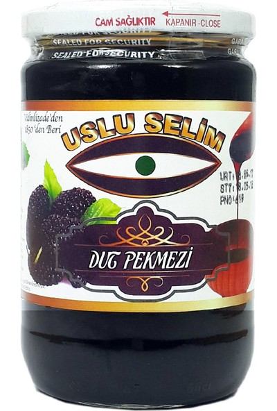 Uslu Selim Dut Pekmezi 800 gr