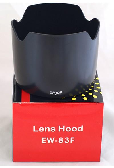 Ayex CANON 24-70 mm f/2.8L Lens Uyumlu EW-83F Parasoley