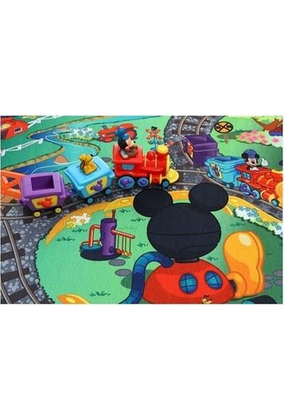 Disney Mickey Tren Oyun Matı