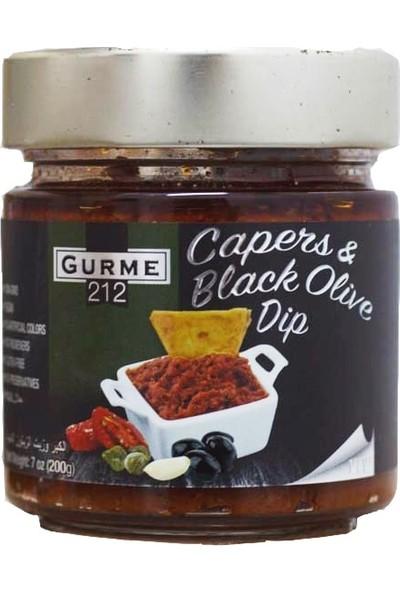 Gurme212 Kapari ve Zeytinli Dip Sos 200 gr