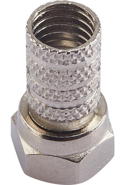 Atlanta A++ RG6 F Konnektör (Su Korumalı/Kalın Kafalı)