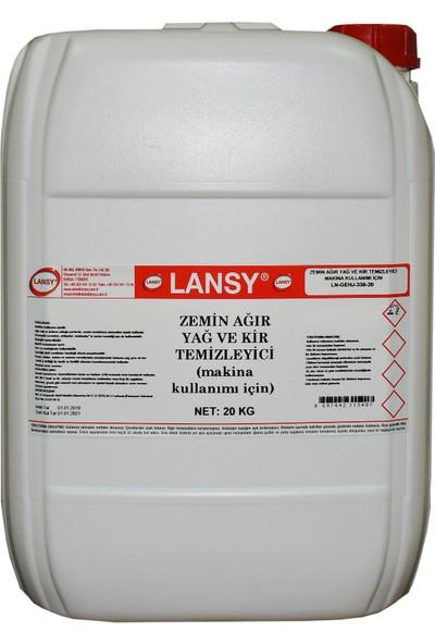 Lansy Zemin Ağır Yağ ve Kir Temizleyici (Makina Kullanımı) 20 kg