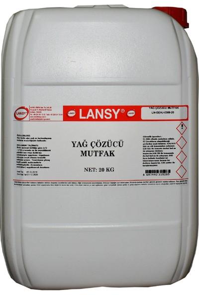 Lansy Yağ Çözücü Mutfak 20 Kg