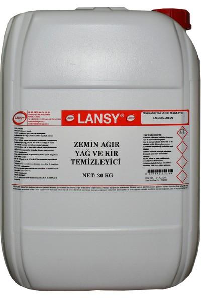 Lansy Zemin Ağır Yağ ve Kir Temizleyici 20 kg