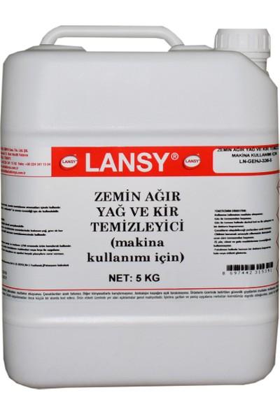 Lansy Zemin Ağır Yağ ve Kir Temizleyici (Makina Kullanımı) 5 kg