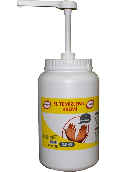 Lansy Endüstriyel El Temizleme Kremi 2,5 kg