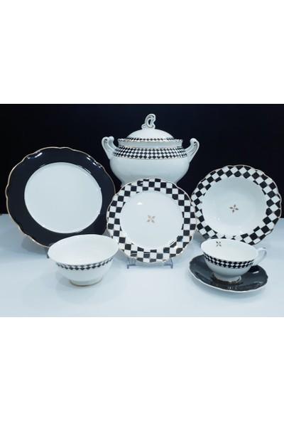 Aryıldız Ar 60023 Prestige Porselen Yemek Takımı 83 Parça