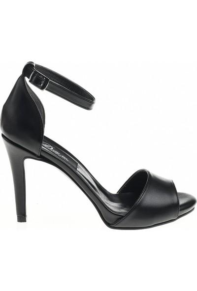 Derigo 24505 Siyah Kadın Stiletto