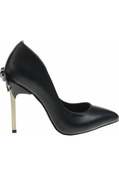 Derigo 28771 Siyah Kadın Topuklu Ayakkabı