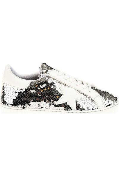 Derigo 340703 Gümüş Kadın Spor Ayakkabı
