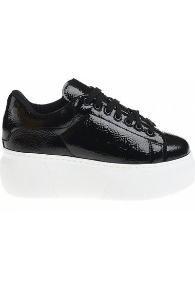 Derigo 395011 Siyah Rugan Kadın Günlük Ayakkabı