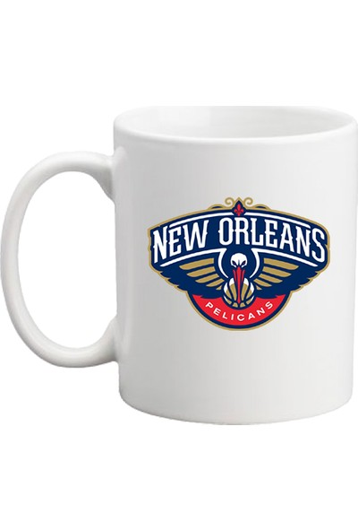 Başak Su Hediye Dükkanı New Orleans Beyaz Kupa Bardak
