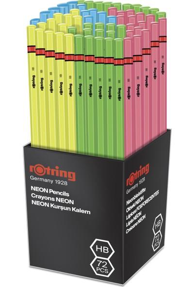 Rotring Neon Kurşun Kalem 72'Lı Stand