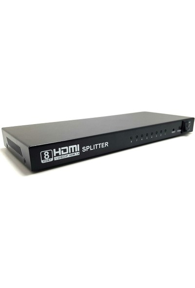 Electroon 1 x 8 HDMI Splitter Full HD 1080