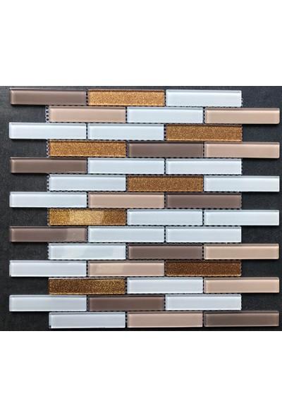 Mcm Kristal Cam Mozaik 20x98x04 cm