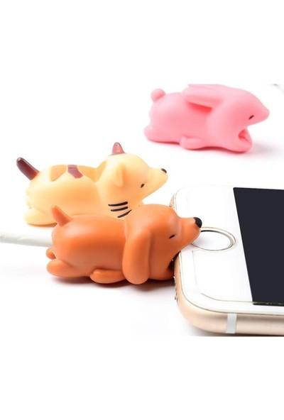 Crnada iPhone Kablo Koruyucu Sünger Bob Kablo Tamir Kiti