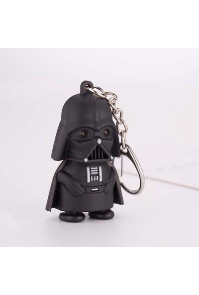 Nz Markt Star Wars Darth Vader Sesli ve Beyaz Işıklı Anahtarlık