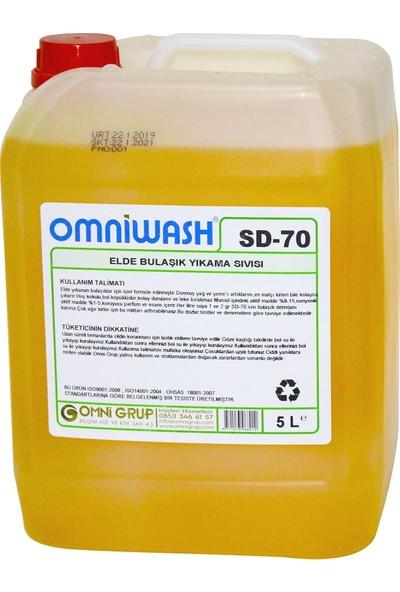 Omniwash Elde Bulaşık Yıkama Deterjanı 5 Lt Sd70