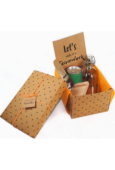 Hepi Kutu Yeni İş Hediye Kutusu Yeşil
