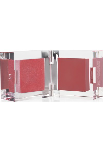 Inglot 2'li Likit Ruj -Lıp Duo Lip Gloss & Lip Paint 21