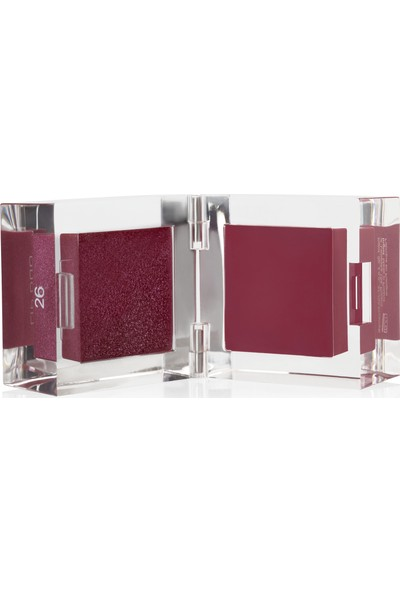 Inglot 2'li Likit Ruj -Lıp Duo Lip Gloss & Lip Paint 26