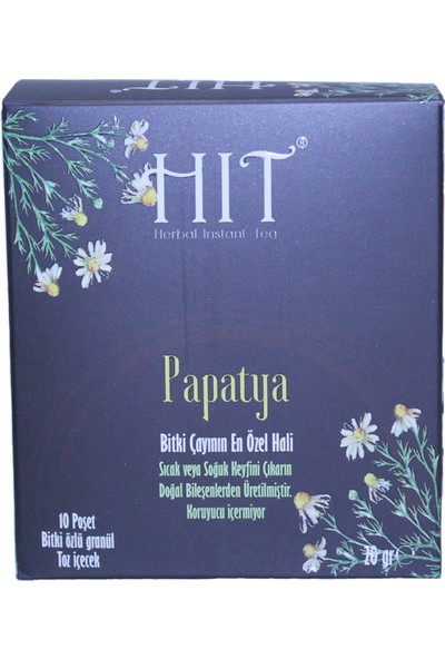 Hıt Herbal Instant Tea Papatya 20 gr