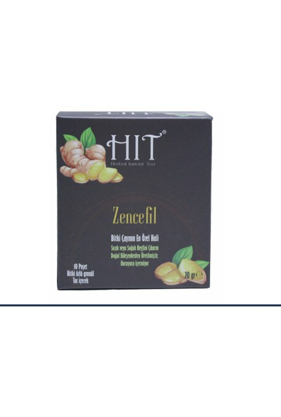 Hıt Herbal Instant Tea Zencefıl 20 gr