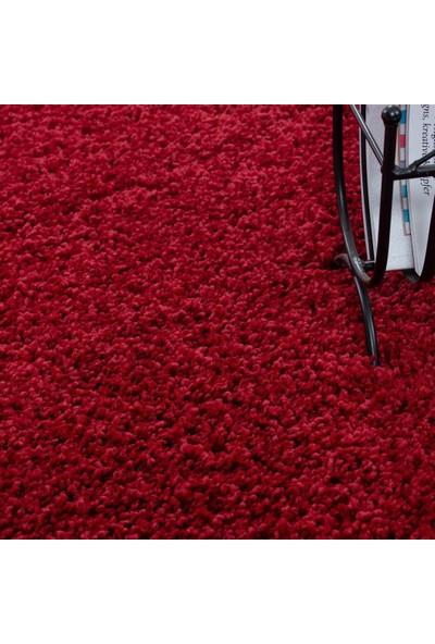 Ayyıldız Halı Shaggy Halı 30 Mm Kırmızı Renkli 60X110 Cm