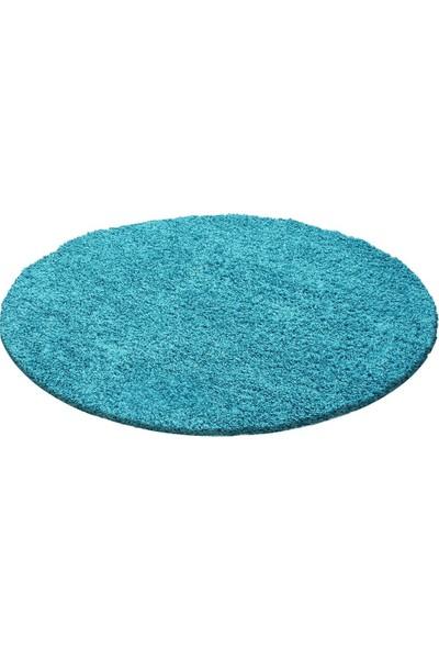 Ayyıldız Halı Shaggy Halı 30 Mm Mavi Renkli 60X110 Cm