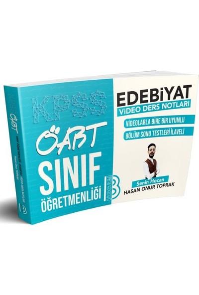 Benim Hocam Yayınları 2019 ÖABT Sınıf Öğretmenliği Edebiyat Video Ders Notları - Hasan Onur Toprak