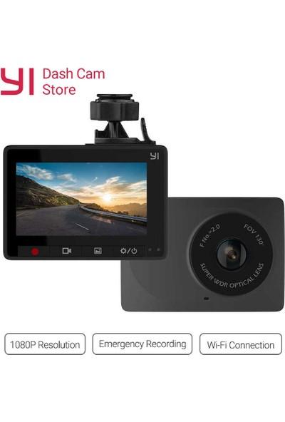 Xiaomi Yi Akıllı Araç İçi Kamera Siyah - 130° Geniş Açı Lens -1080p - Global Versiyon