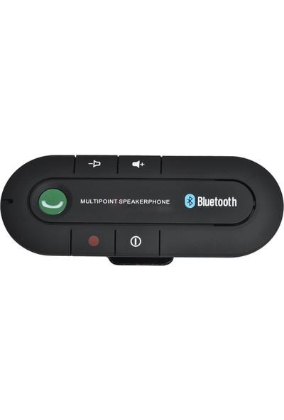 Case 4U Eller Serbest Bluetooth Araç Kiti Çift Telefon Desteği