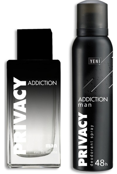 Privacy Man Addiction EDT Erkek Parfüm 100 ml & Deodorant 150 ml