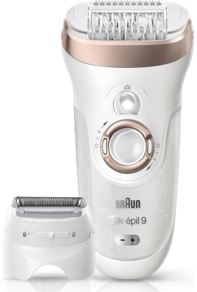 Braun Silk-épil 9 9561 Epilatör - 6 Ek Parçalı Islak ve Kuru Kablosuz Epilatör / Epilasyon