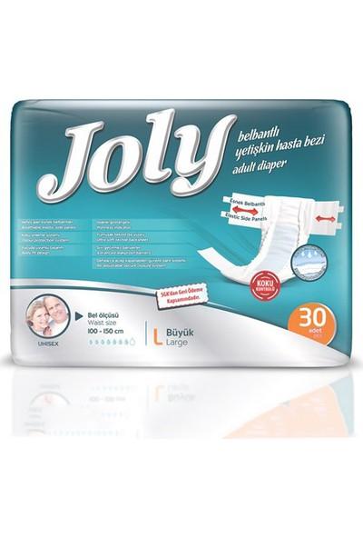 Joly Belbantlı Hasta Bezi Large 30'lu