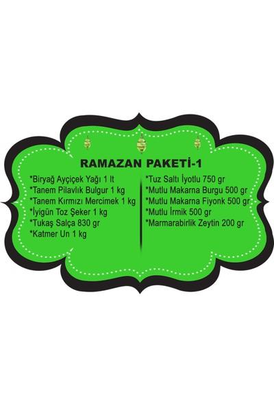 Ramazan Erzak Paketi 11 Parça
