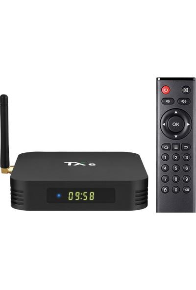 Case 4U Tanix TX6 4K HDR TV Box Android 9 - 4 GB Ram / 32 GB Hafıza